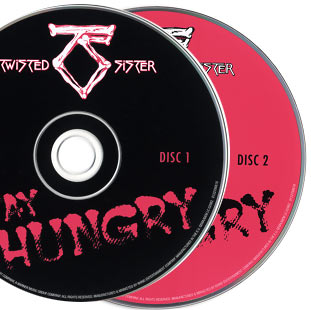 Фото диски Альбома Twisted Sister - Stay Hungry 25th Deluxe Edition (2009) фотография