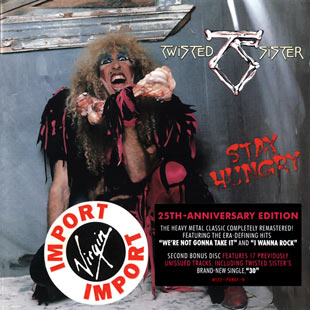 Фото обложки Альбом Twisted Sister - Stay Hungry 25th Deluxe Edition (2009) фотография