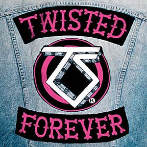 На Фото обложка альбома группы Twisted Sister - Twisted Forever Official Tribute(2002) фотография трибьют альбом Twisted Sister